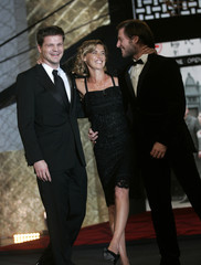 Director Gallenberger, French actress Consigny and German producer Herrmann attend the opening ceremony of the Marrakesh 9th International Film Festival