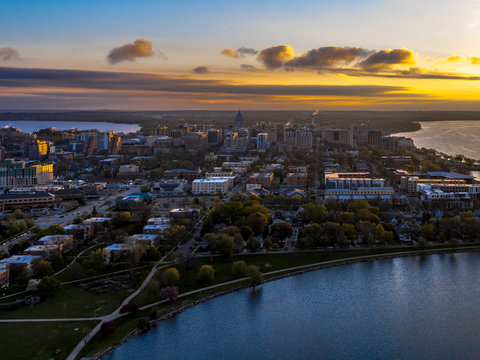 Madison WI Aerial Photo