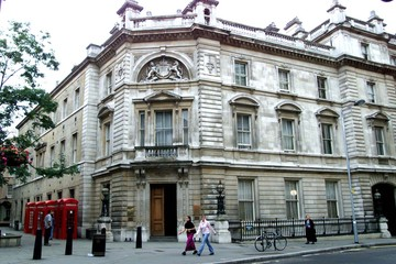 GENERAL VIEW OF BOW STREET MAGISTRATE COURT IN LONDON.