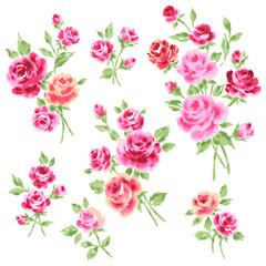 薔薇イラスト素材