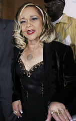 "Singer Etta James attends the premiere of the film ""Cadillac Records"" in Hollywood"