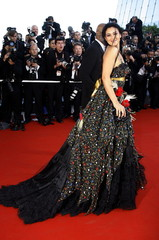 Italian actress and jury member Monica Bellucci arrives for the screening of [U.S. director Sofia Co..