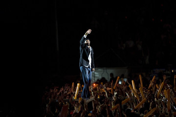 "Dominican Republic singer Juan Luis Guerra performs during his ""La Travesia Tour"" in Santo Domingo"