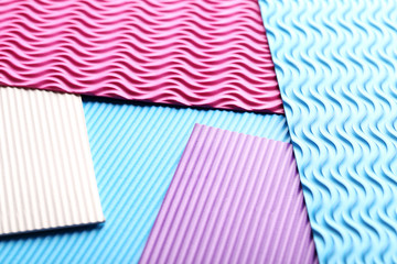Striped and colorful background