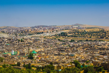 View on Fez, Morocco