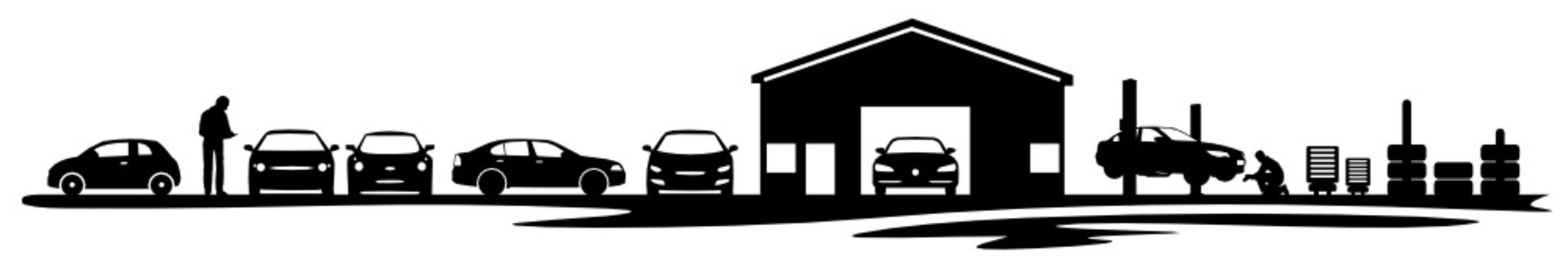 Silhouette Auto Verkauf