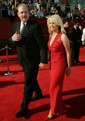 Boston Red Sox pitcher Curt Shilling and his wife Shonda arrive at the 13th annual ESPY Awards in Hollywood.