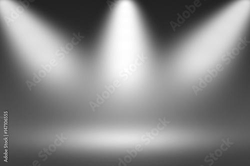 Fuzzy Black Background : Quot product showscase spotlight on black background soft