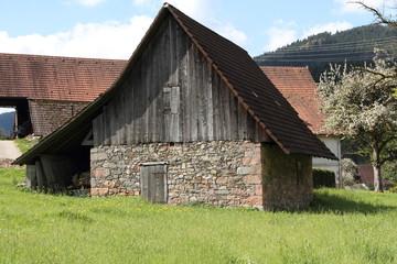 Schuppen im Schwarzwald