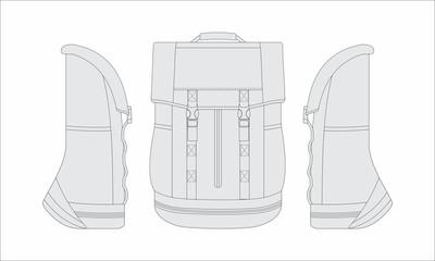 Vector for backpack development