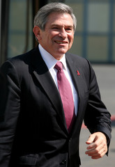 World Bank President Wolfowitz arrives in Mexico City
