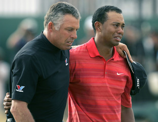 Woods of US cries after winning British Open Championship in Hoylake