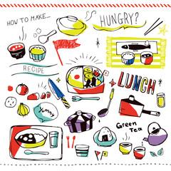 和食 カラフル