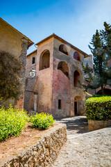 Dans le fort Rocca Spagnola de Porto Ercole en Toscane
