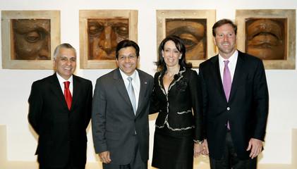 US Ambassador Tony Garza Mexican Attorney General Macedo de la Concha and US Attorney General ...