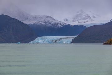 Glaciers in Lake Argentino, Los Glaciares National Park