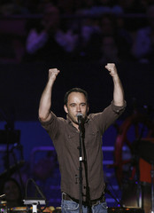 Musician Dave Matthews performs during a concert celebrating Pete Seeger's 90th birthday in New York