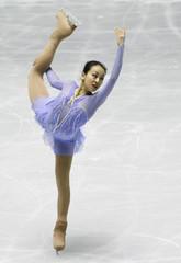 Asada of Japan performs at the short program during the ISU Grand Prix of Figure Skating in Tokyo