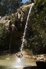 Butterfly Valley Waterfall in Brazil