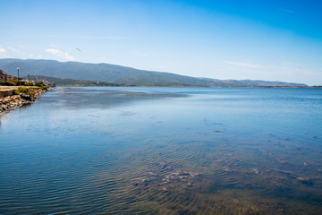 La lagune d'Orbetello en Toscane