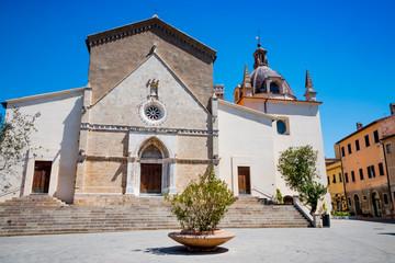 Dans le village de Orbetello en Toscane