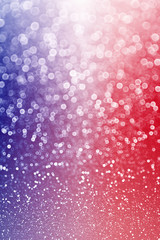 Patriotic red white and blue sparkle background