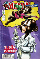 A comic book of the cartoon Memin Pinguin is shown.