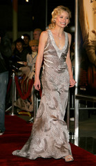 """De Ravin arrives at film premiere of """"The Hills Have Eyes"""" in Hollywood, California"""