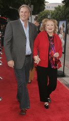 GENA ROWLANDS AND SON DIRECTOR NICK CASSAVETES AT PREMIERE OF THE NOTEBOOK.
