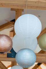 Paper Lantern Wedding Reception Decor