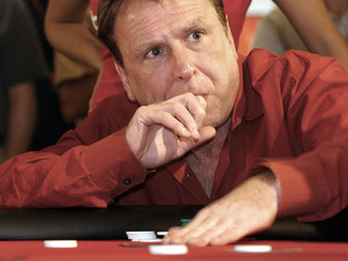 Quinn prior to being eliminated in celebrity poker tournament in Honolulu.