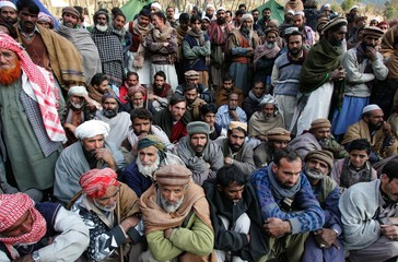 Earthquake survivors wait for Pakistani government compensation for destroyed houses near Balakot
