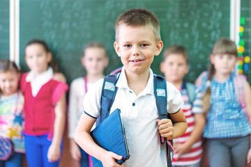 Children from primary school