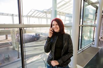 airport traveler