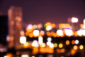 the Cityscape bokeh, Blurred Photo, cityscape at twilight time