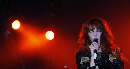 British singer Florence Welch of Florence and the Machine performs at the Glastonbury Festival 2009 in south west England