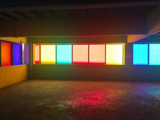 Multicolor mirror