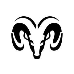 Goat icon design