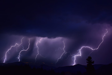 şimşek & yıldırım & meteoroloji