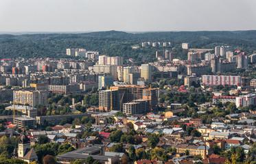 Lviv Cityscape. Ukraine. Lviv City