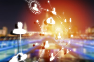 Social networking technologies in London