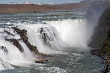 Gullfoss - Wasserfall, Island