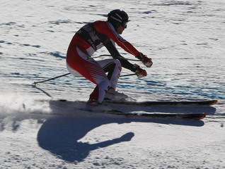 Walchhofer of Austria skis to fourth best time in first training for men's World Cup downhill ski race in Beaver Creek