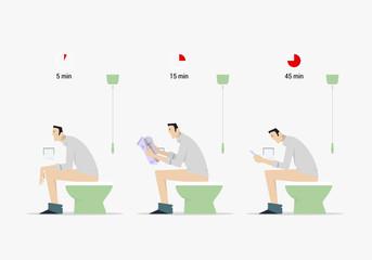 Poop time comparison.