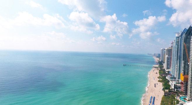 Sunny Isles Beach Miami. Ocean front residences.