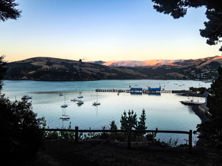 Idyllic Akaroa, Canterbury, New Zealand