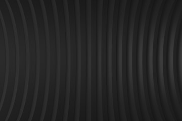 Background  line black color pattern abstract concept  3D rendering.