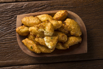 cassava snacks fried