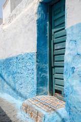 old door in rabat; morocco