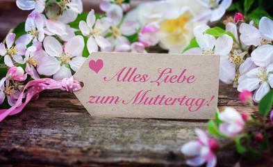 Alles Liebe zum Muttertag,